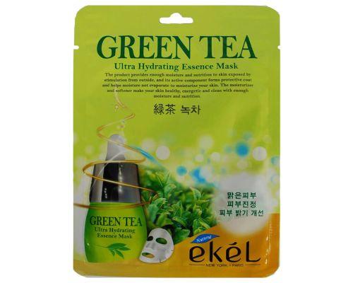 Увлажняющая маска с зеленым чаем от Ekel