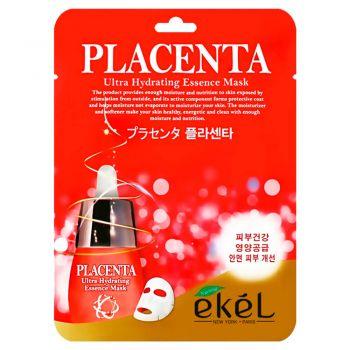 Увлажняющая маска с плацентой от Ekel
