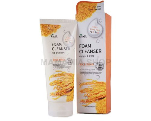 Rice Bran Foam Cleanser