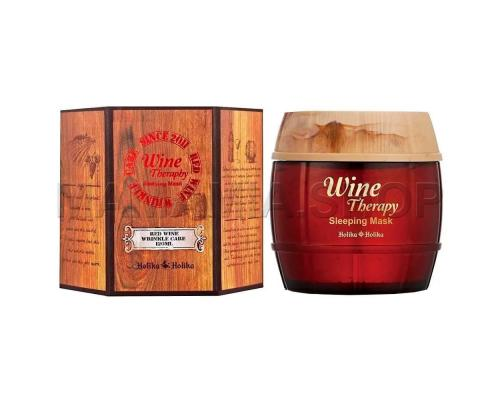 Ночная маска с экстрактом красного вина от Holika Holika