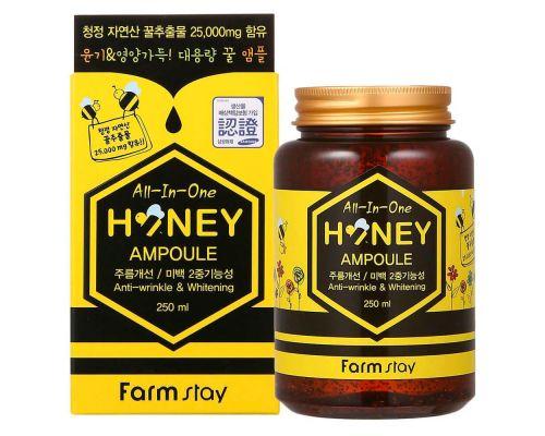 Ампульная сыворотка с с экстрактом меда от FarmStay
