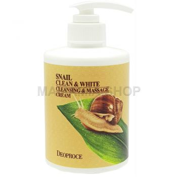 Snail Clean & White Cleansing & Massage Cream