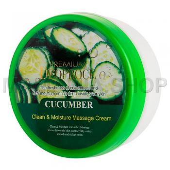 Premium Clean & Moisture Cucumber Massage Cream