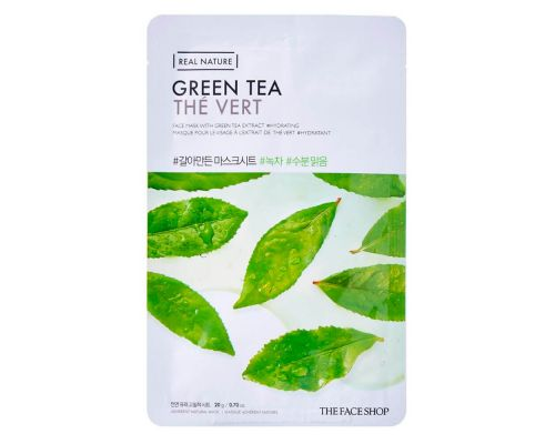 Real Nature Green Tea Face Mask