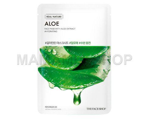 Real Nature Aloe Face Mask