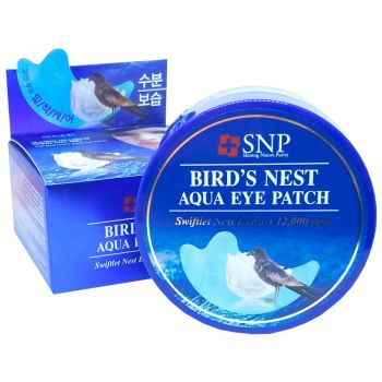 Bird's Nest Aqua Eye Patch