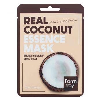 Тканевая маска с экстрактом кокоса от FarmStay