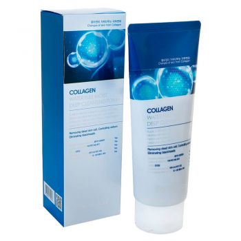 Collagen Water Full Moist Deep Cleansing Foam