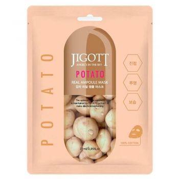 Ампульная маска с экстрактом картофеля от JIGOTT