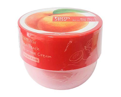 Крем для лица и тела с экстрактом персика от FarmStay