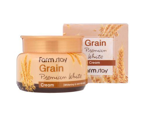 Осветляющий крем с экстрактом пшеницы от FarmStay