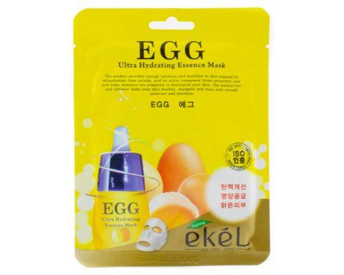 Увлажняющая маска с яичным желтком от Ekel
