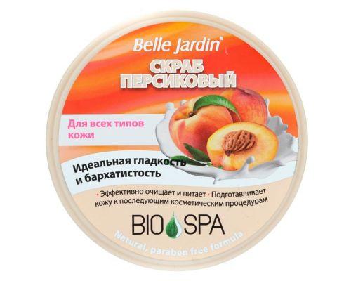 Персиковый скраб для лица от Belle Jardin