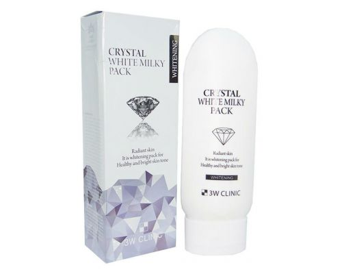 3W Clinic Crystal White Milky Pack