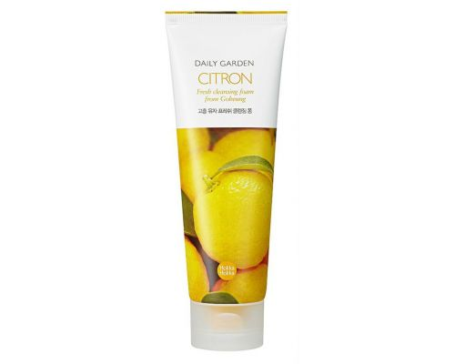 Daily Garden Citron Fresh Cleansing Foam