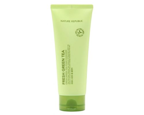 Fresh Green Tea Foam Cleanser