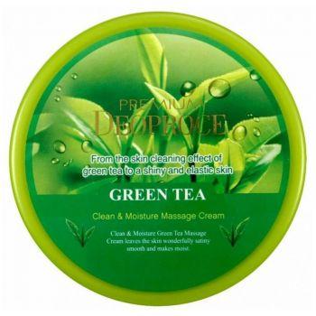 Premium Clean & Moisture Green Tea Massage Cream