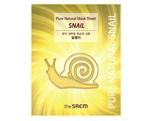 Pure Natural Mask Sheet Snail
