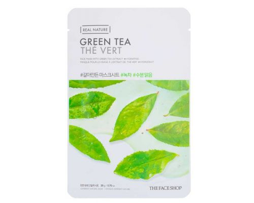 Real Nature Green Tea Face Mask