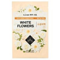 Therapy Air Mask White Flowers