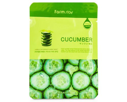 Visible Difference Mask Sheet Cucumer