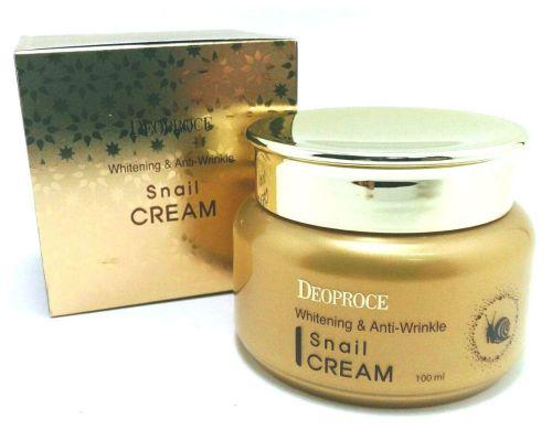 Whitening & Anti-Wrinkle Snail Cream